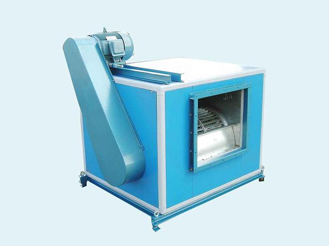 离心柜式风机箱的冷却方法之三